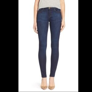 DL1961 Karen High Rise skinny jeans dark wash